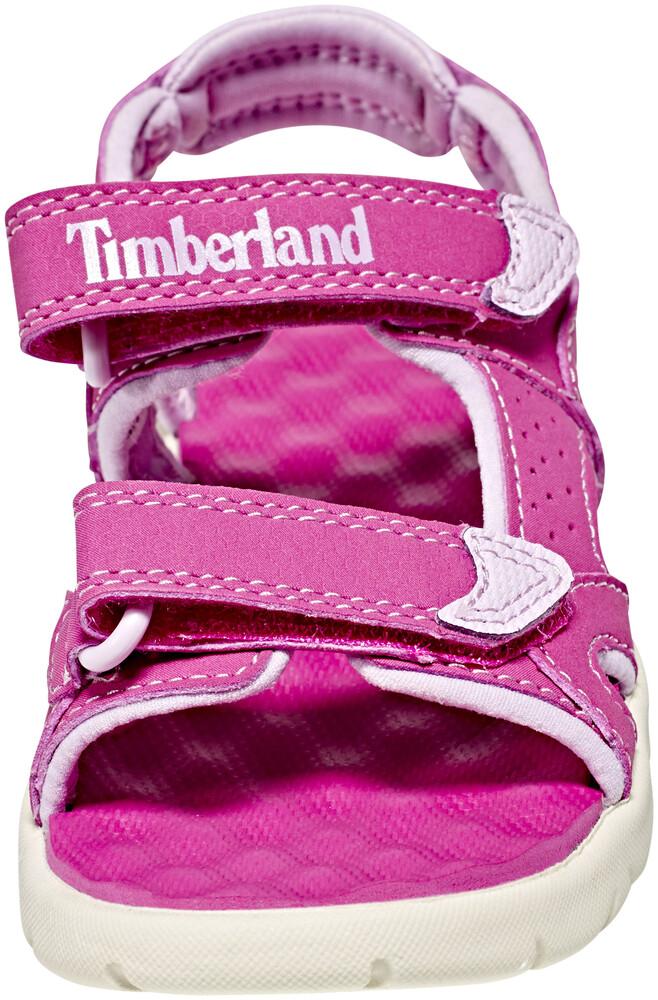 Timberland Perkins Row 2-Strap Sandals Kids Medium Pink Schuhgröße 29 2018 Sandalen Nq74Ki